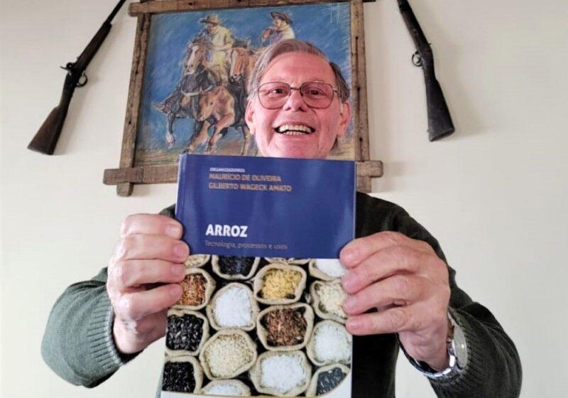 Livro enfoca industrialização e processos do arroz