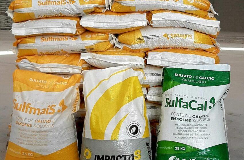 Com foco na nutrição vegetal, SulGesso lança duas novas marcas de produtos da divisão MaxiSolo