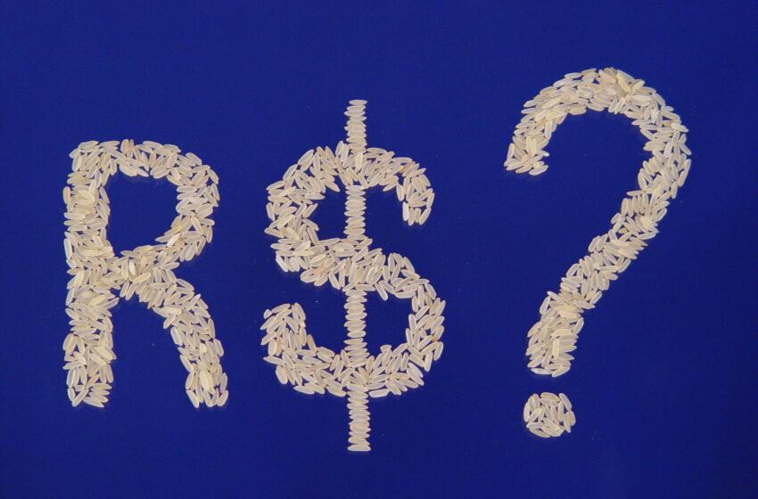 Preços do arroz caem em direção às referências de exportação