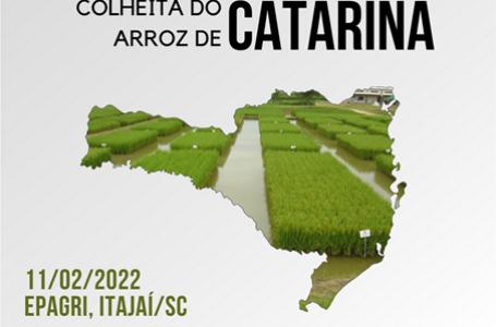 Evento será na Epagri de Itajaí/SC