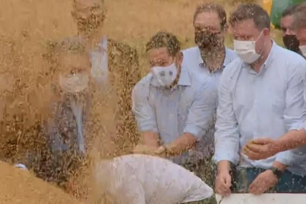 Mourão: arroz garantiu segurança alimentar do país