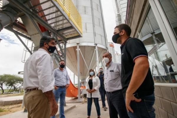 Respaldo a la industria chaqueña: Capitanich visitó instalaciones de la arrocera Oryza S.A.
