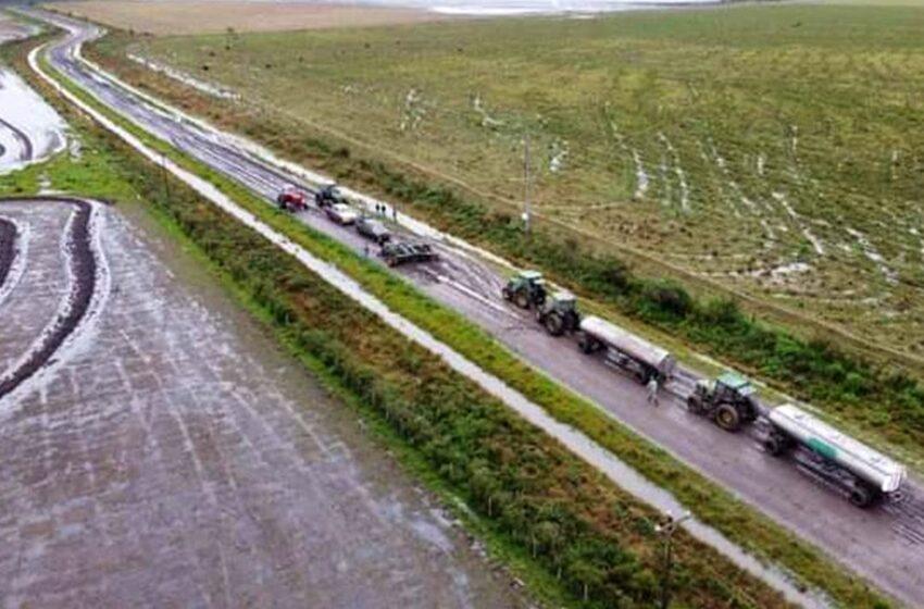Condições de estrada divide arrozeiros e tambeiros em Entre Ríos